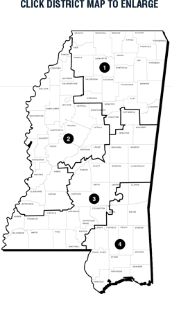Congressional Districts Map